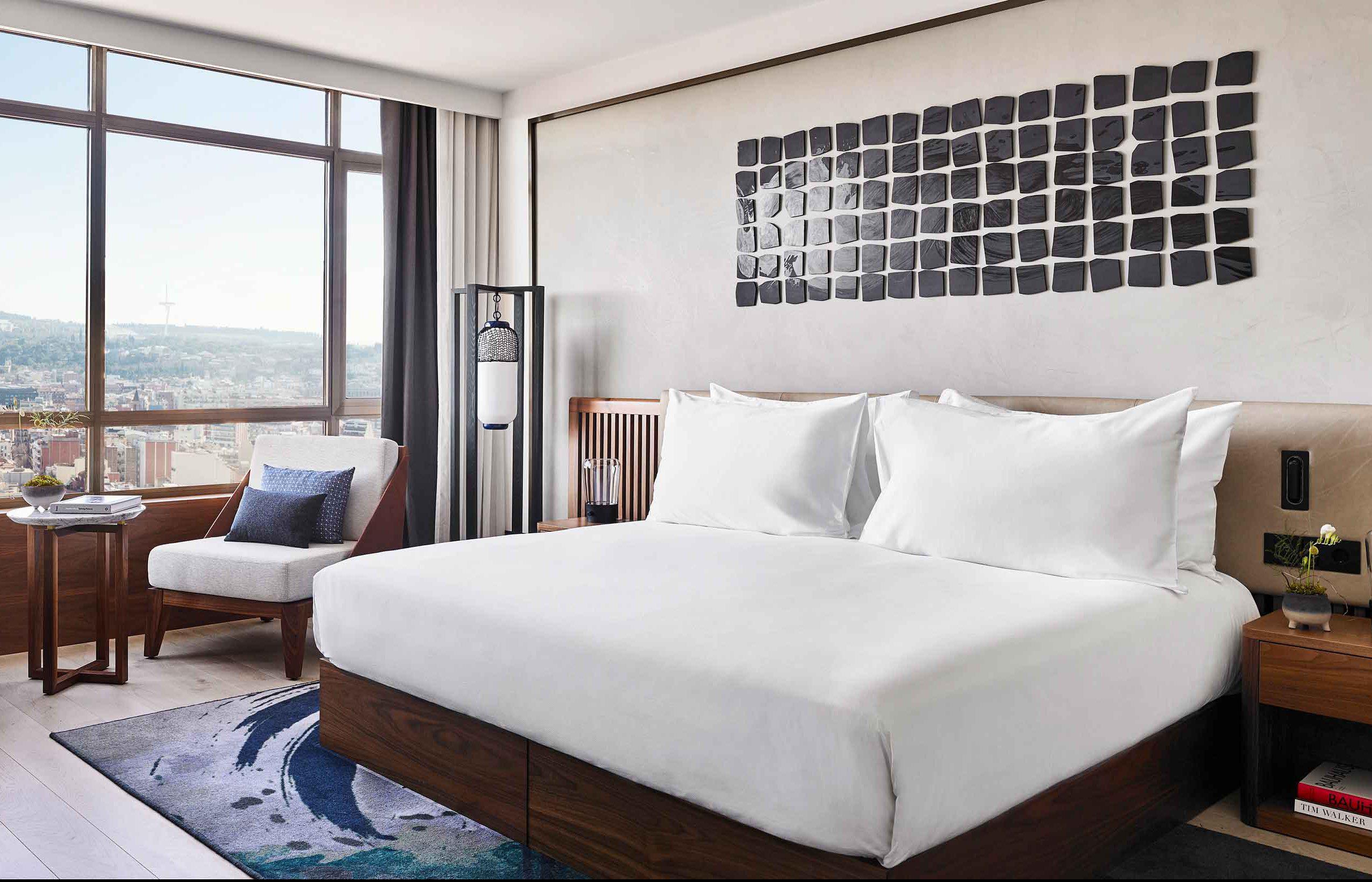 Nobu Hotel Barcelona Guest Room