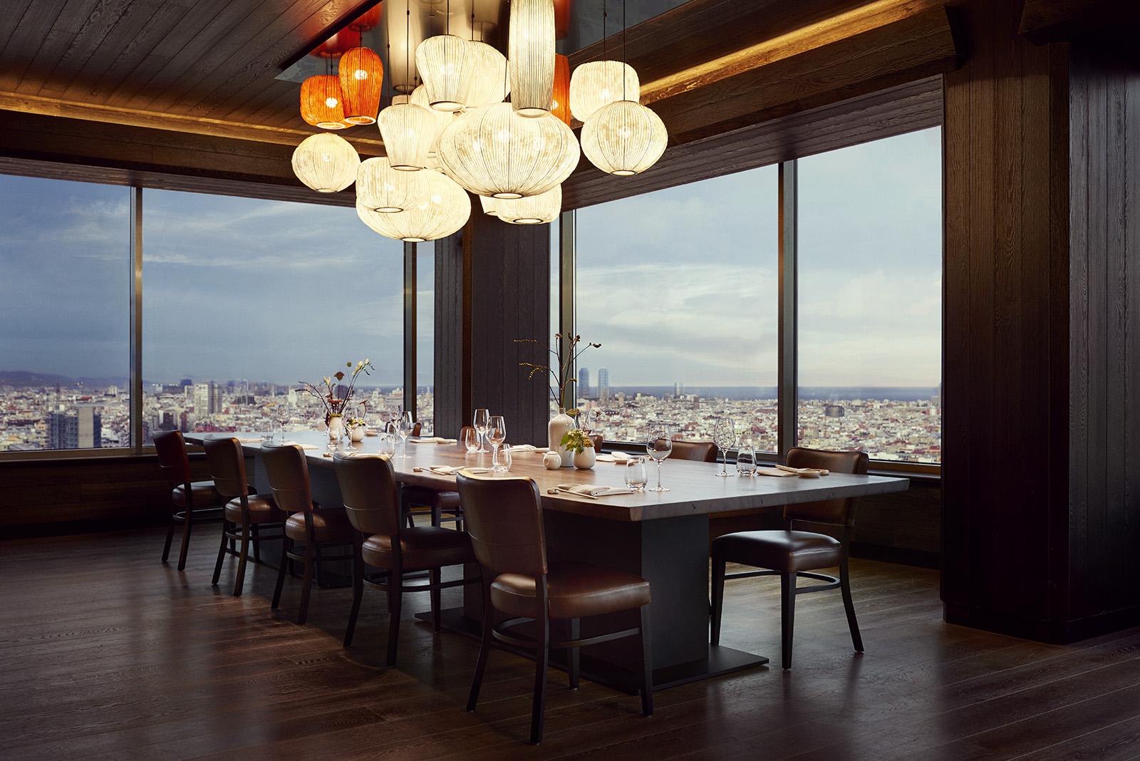 Nobu Barcelona Private Dining Room